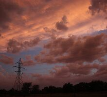 Kansas Stormy Night out back by ROBERTDBROZEK