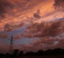 Kansas Stormy Night out back by ROBERTDBROZEK