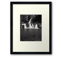 """Elabana Falls"" ∞ Lamington National Park, QLD - Australia Framed Print"