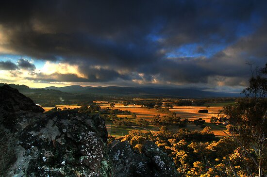 Hanging Rock HDR #1 by Matt  Carlyon
