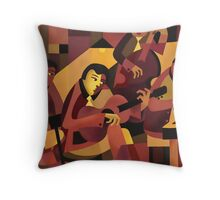 QUARTET II Throw Pillow