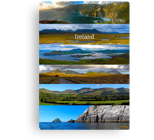 panoramic Ireland Canvas Print