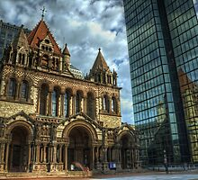 Trinity Church by jswolfphoto