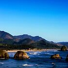 Ecola looking toward Canon Beach by ZWC Photography