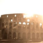Colosseum, Rome, sunset by Katy Marriott