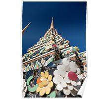 Decorated Stupa, Wat Pho Poster