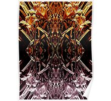 Garden Variety Abstract Poster