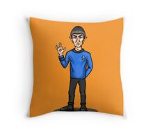 Live Long and Prosper - Spock Throw Pillow