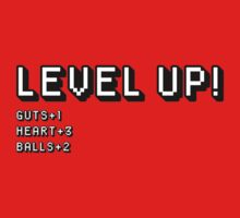 Level Up by huckblade