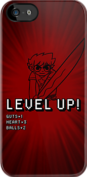 Level Up (w/ Scott Pilgrim) by huckblade