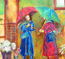 RAINY MARKET DAY by kimberlysdream