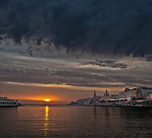 Valletta Island of Malta:taken from Ta'Xbiex creek  by Edwin  Catania