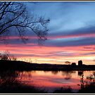 Sunset on The Molonglo River - Canberra by shortshooter-Al
