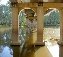 Under the Bundalong Bridge by Kerry  Hill