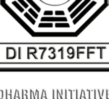 LOST Dharma Initiative Sticker