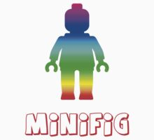 Minifig [Rainbow 1] by Customize My Minifig by ChilleeW