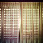 Behind closed curtains by ale di gangi