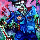 Zombie Cop (Horror Comics, Zombies) by Laura Barbosa