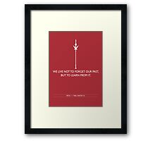 Words of Wisdom: Freya Framed Print