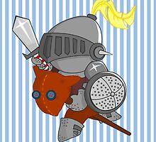 little knight in armor by alapapaju