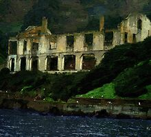 Alcatraz Night by RC deWinter