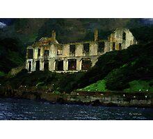 Alcatraz Night Photographic Print