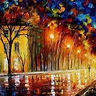 INNER WARMTH - OIL PAINTING BY LEONID AFREMOV by Leonid  Afremov