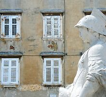 The squire of Piran - Slovenia by Arie Koene