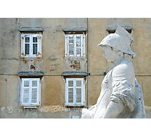 The squire of Piran - Slovenia Photographic Print