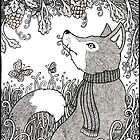 The Fox and the Grapes by Anita Inverarity
