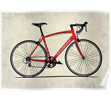 Specialized Race Bike Poster