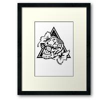 Aztec Skull  Framed Print