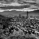 View over Santiago by Daidalos