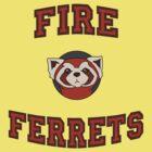 Fire Ferrets by samrobbo94