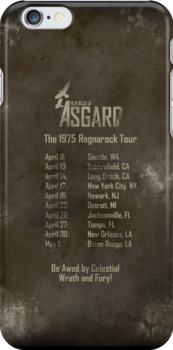 Old Gods of Asgard: Ragnarock Tour Poster by Alessandro Bricoli