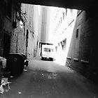 Truck in Alleyway by cudatron