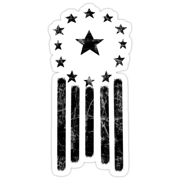 Fallout: Ulysses Old World America Flag [BLACK] by Styl0