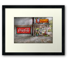 Store Front - Life is Good Framed Print