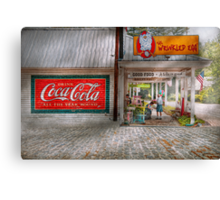 Store Front - Life is Good Canvas Print
