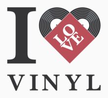 I Love Vinyl Kids Clothes