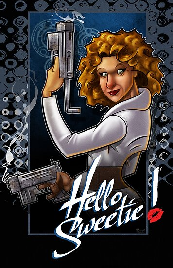 "River Song - ""Hello Sweetie!"" by Jon Pinto"