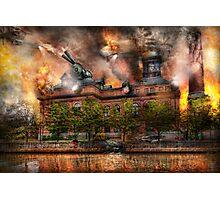 Steampunk - The war has begun Photographic Print