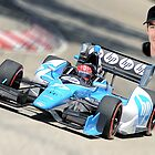 Simon Pagenaud ##77 by Mark Bolen