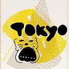 tokyo over yellow by ecrimaga
