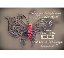 Memory Box Card - Baby Girl Photographic Print