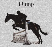 Cute iJump Equestrian Horse T-Shirt and Hoodies Kids Clothes
