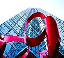 Bank Of America Plaza at Dallas by Rafiul Alam