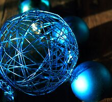 Shiny Blue Ball by Carol James