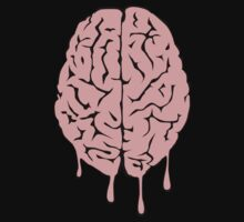 Brain melt - vector illustration of melting brain! by DiabolickalPLAN