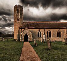 All Saints Church Woodton by Darren Burroughs